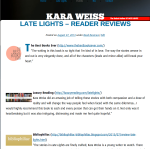 Late Lights Book Review